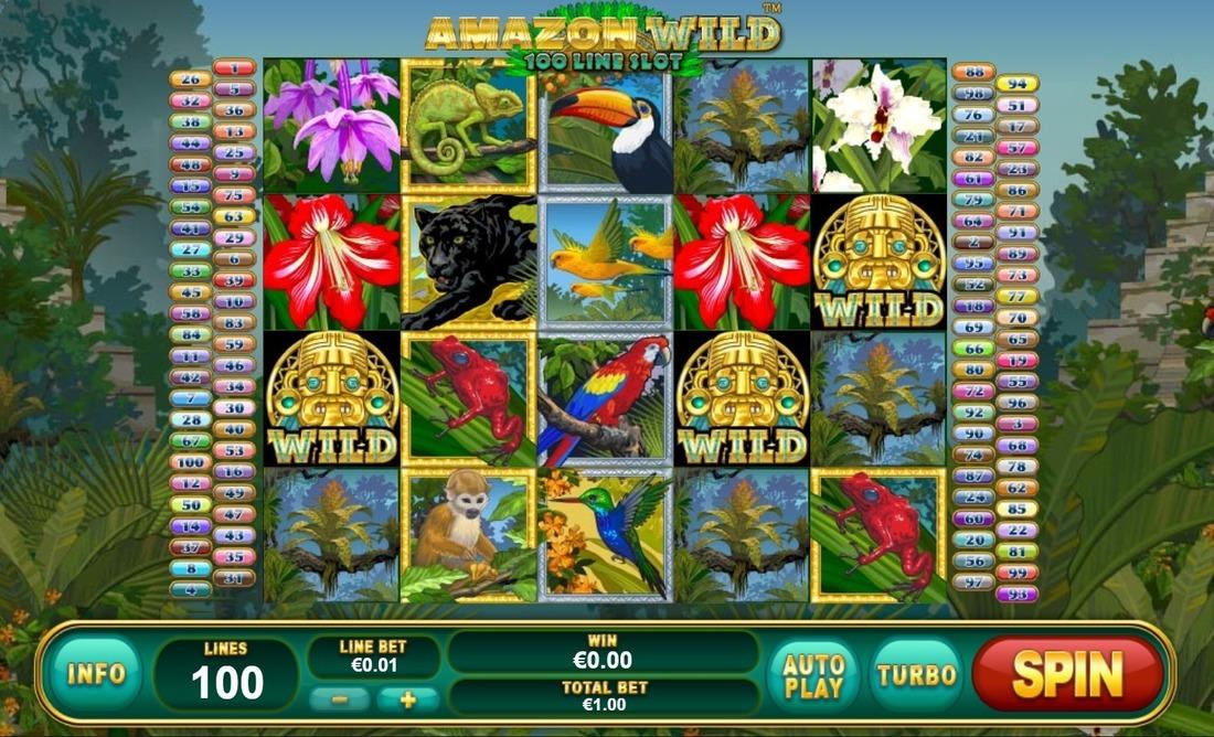Играть онлайн игровые автоматы amazon wild